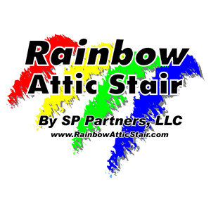 Rainbow attic ladder  square b30be9989644f1b2cc08d785c88814c67ded83f74026ddf4b08091eeafd7136c